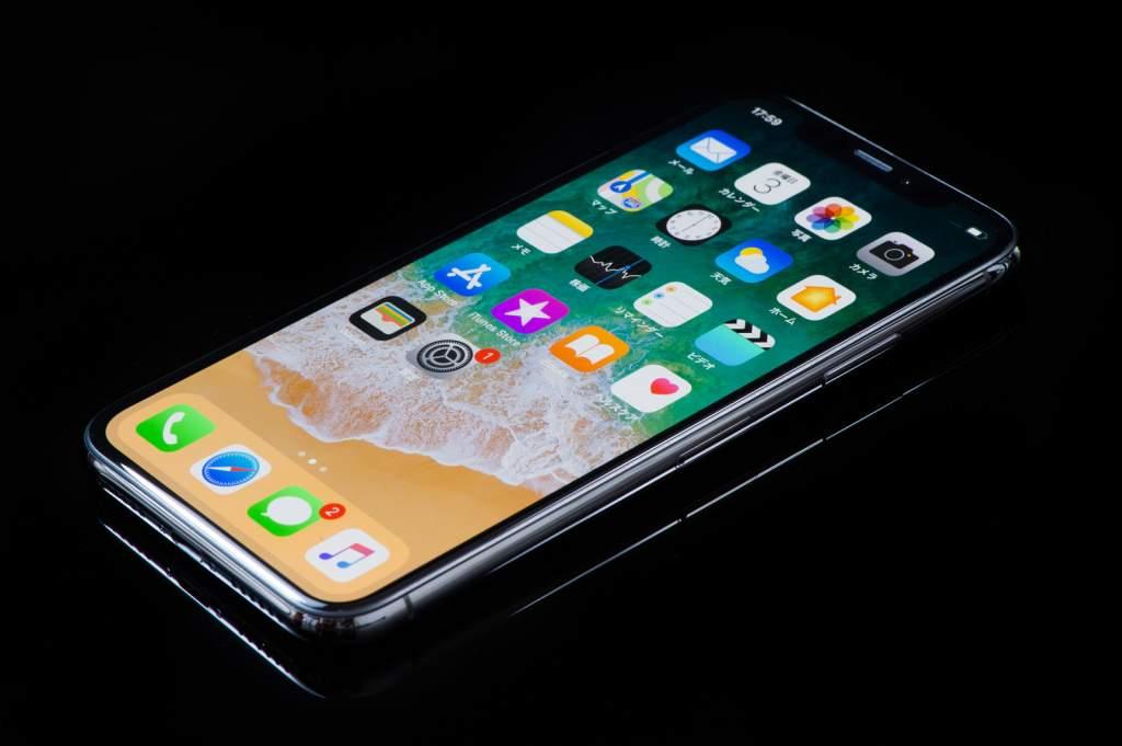 5.8インチディスプレイのiPhone X