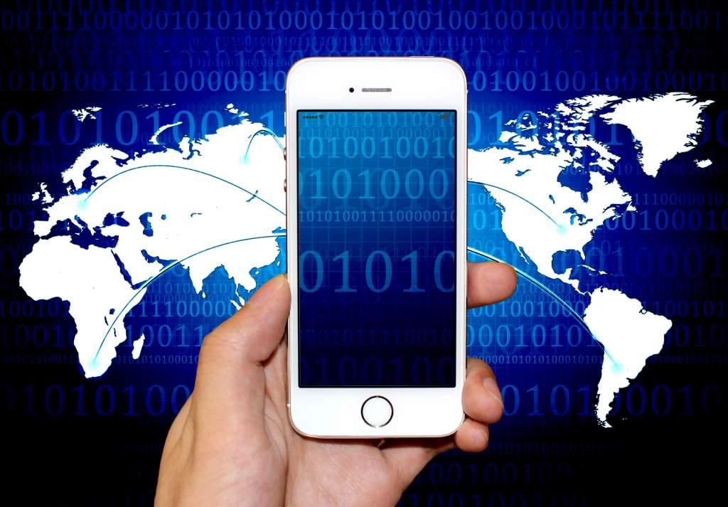 iPhone サイバー 通信