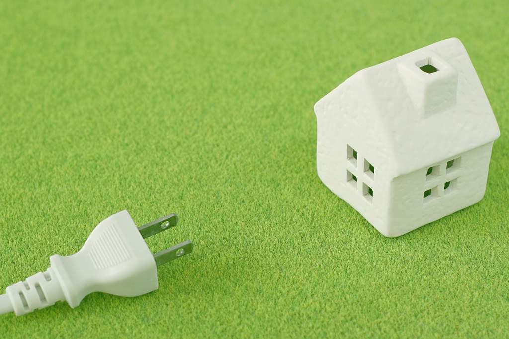 家庭の電気イメージ