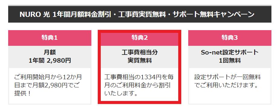 NUNO光キャンペーン