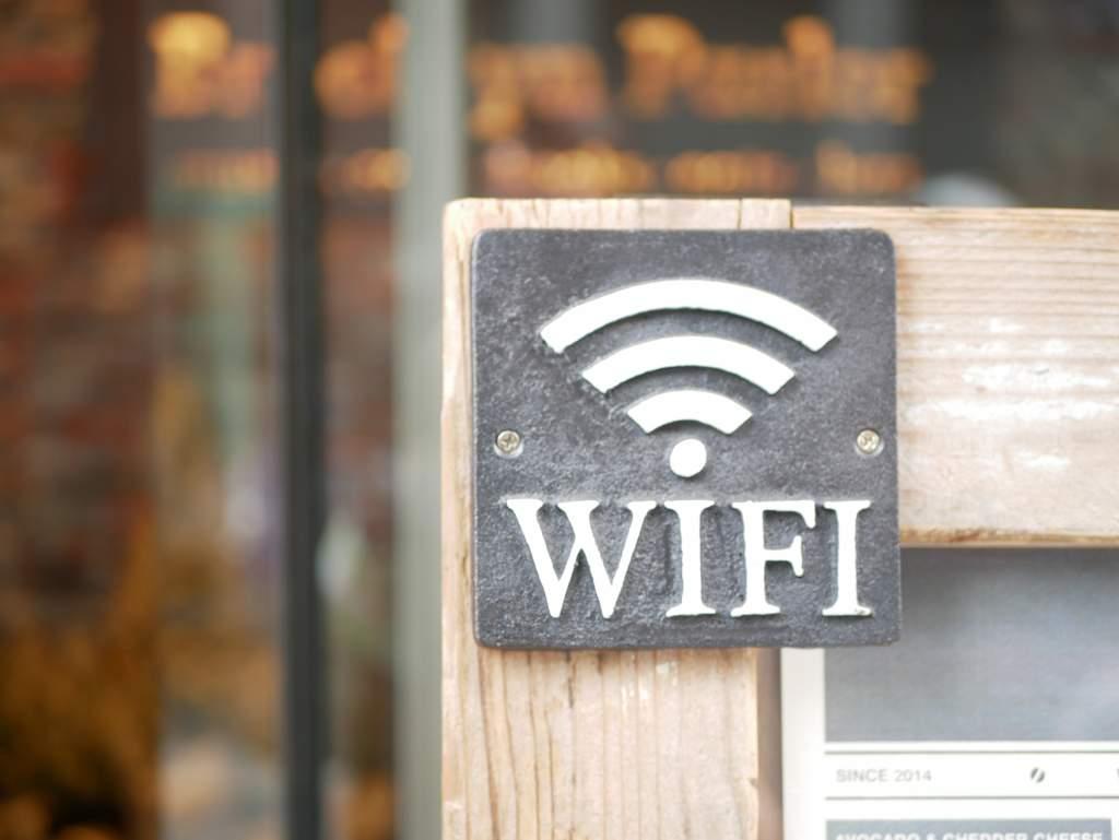 WiFiの標識