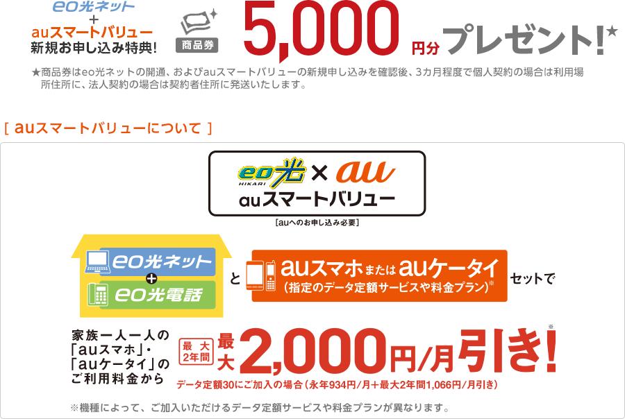 eco光×au auスマートバリュー