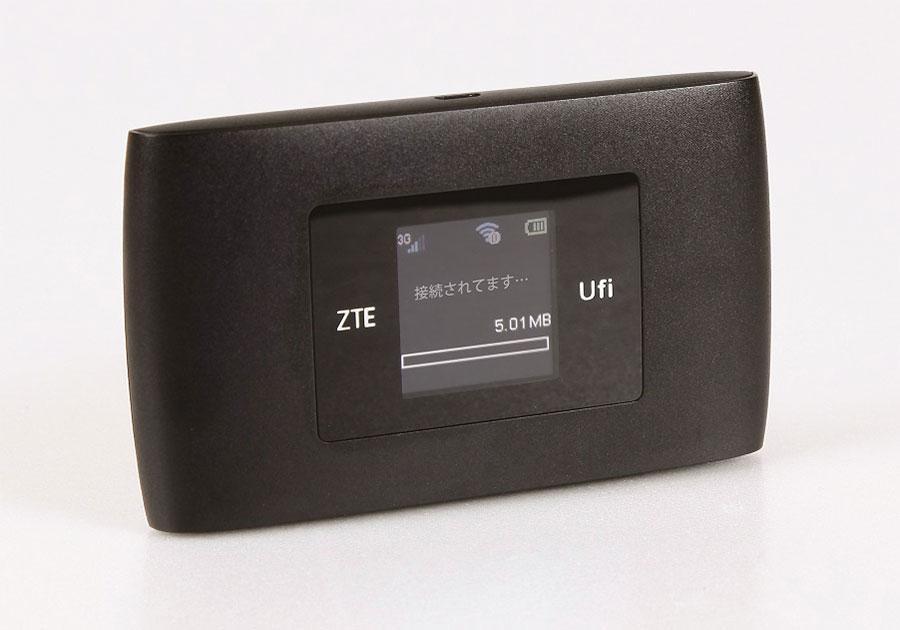 ルースモバイルWi-FiのZTE製端末「MF920S」