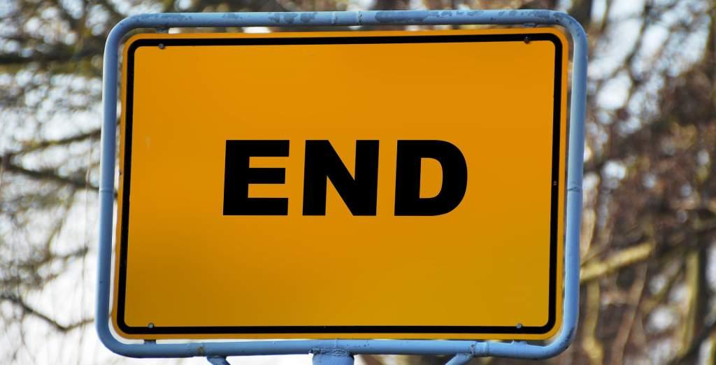 終了,END