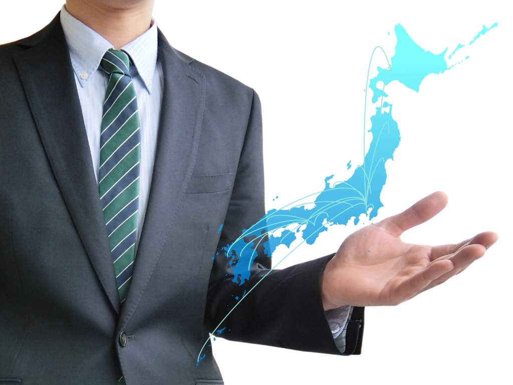 日本地図 エリア マップ