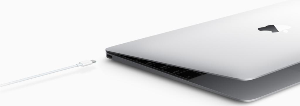 macbookのUSBポート