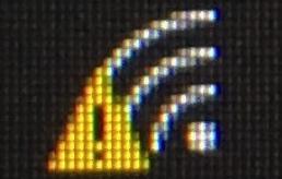 Wi-Fiのビックリマーク