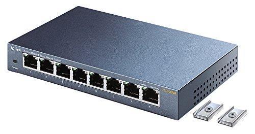 TP-Link スイッチングハブ 8ポート ギガビット 磁石付き らくらくマウント TL-SG508