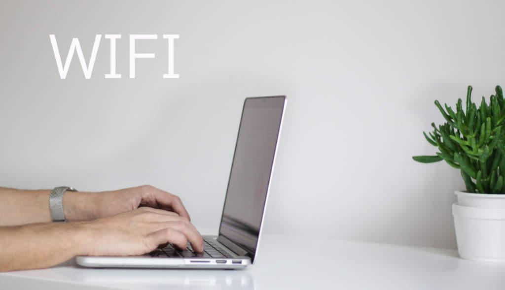 ノートPCとWIFI環境