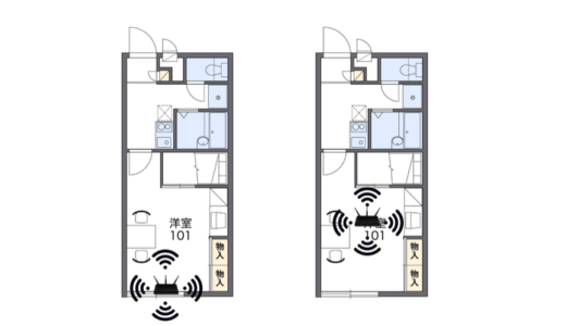 Wi-Fi/無線LANルーターの適切な設置場所はここ!置き場所次第で速度は上がる!