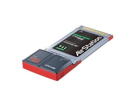 デバイスに挿す無線LANカード