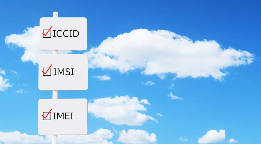 ICCID-IMSI-IMEI