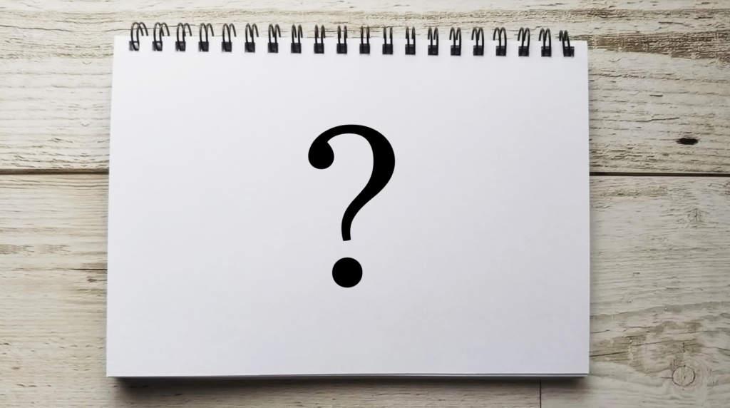 質問 疑問 クエスチョン