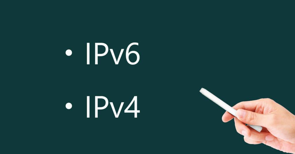IPv6とIPv4について