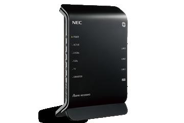 NECの市販ルーター