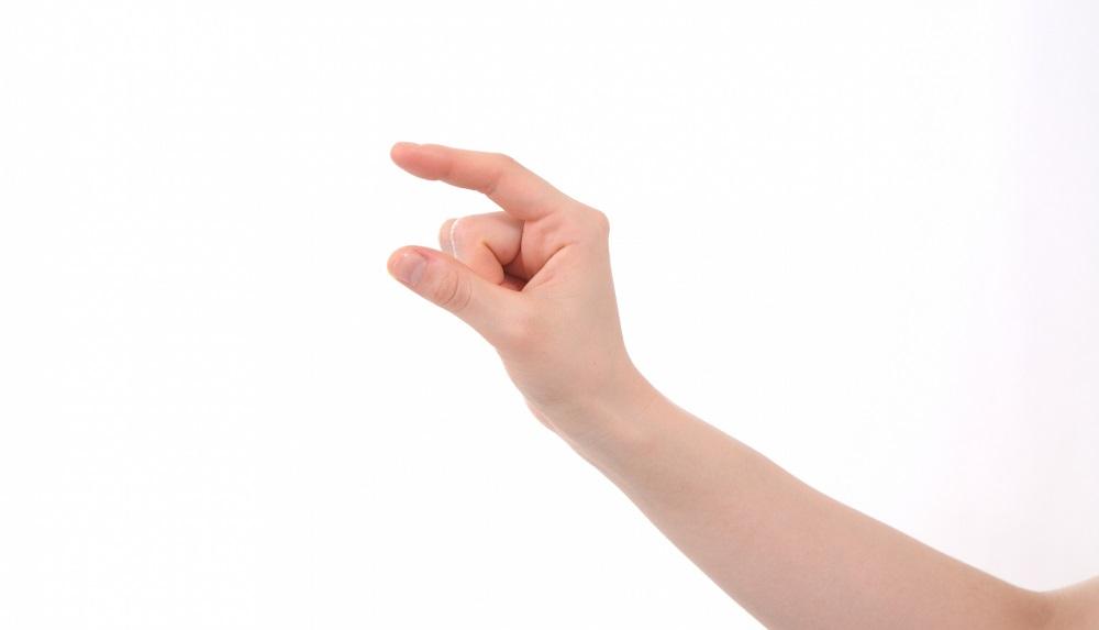 少ない イメージ 指